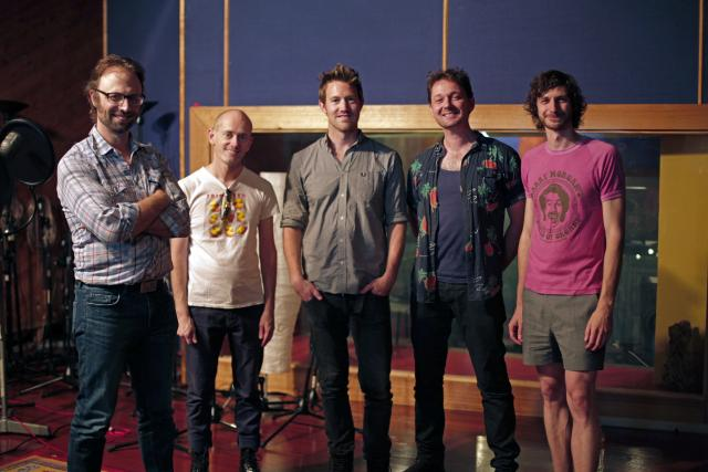 "Recording Eddie Perfect, Tripod & Gotye's ""Quasimodo's Dream"""