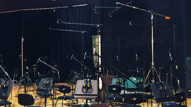 Recording SSO with Nigel Westlake at Trackdown Studios